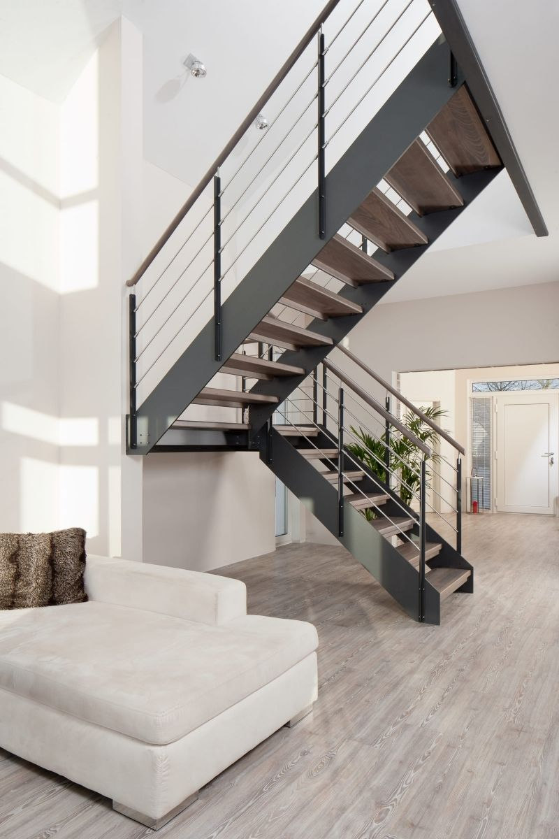 hpl treppen hpl treppe 06 treppenbau vo stairs pinterest treppe treppenhaus und hausbau. Black Bedroom Furniture Sets. Home Design Ideas