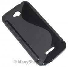 SSYL CUSTODIA TPU SILICONE BACK CPVER CASA HTC DESIRE 516 / 516 DUAL SIM BLACK NERO - SU WWW.MAXYSHOPPOWER.COM