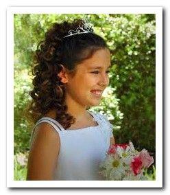 Phenomenal 1000 Images About Wedding Hair Styles On Pinterest Flower Girl Short Hairstyles Gunalazisus