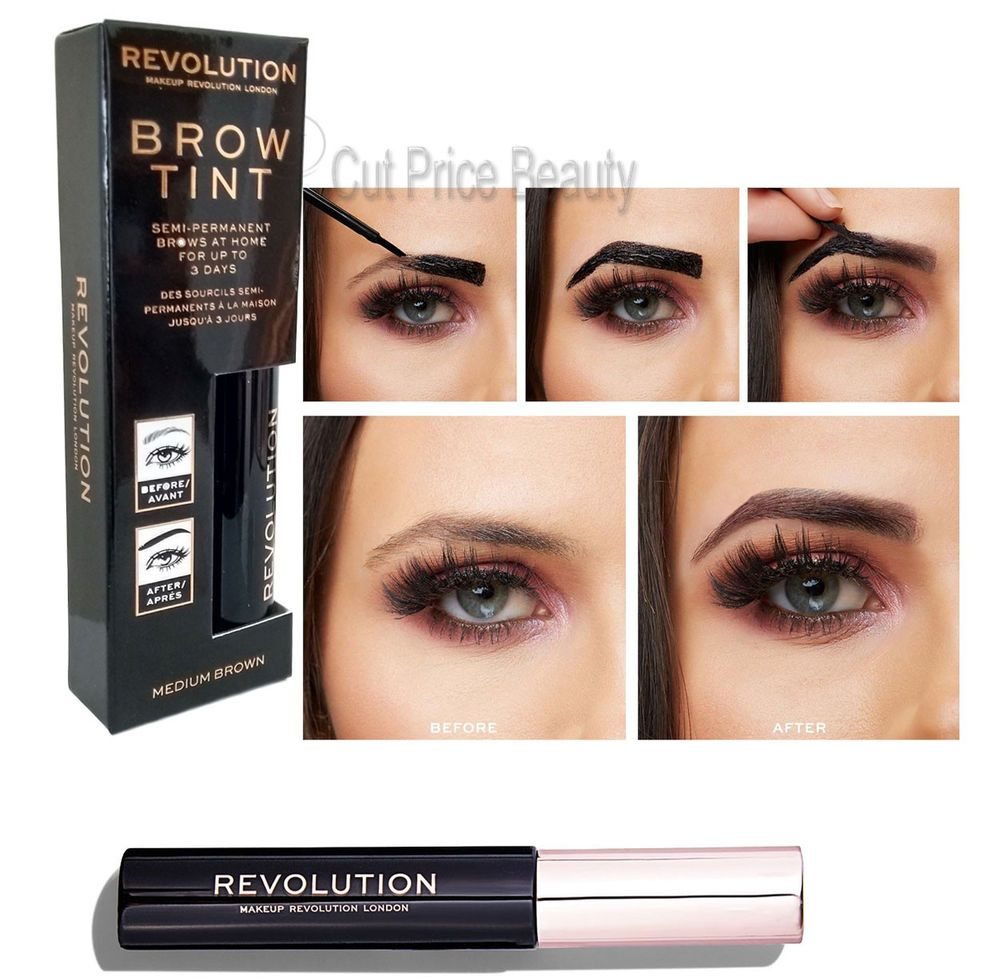 a9504eb7b Details about Makeup Revolution Semi Permanent Eyebrow Tattoo Brow ...