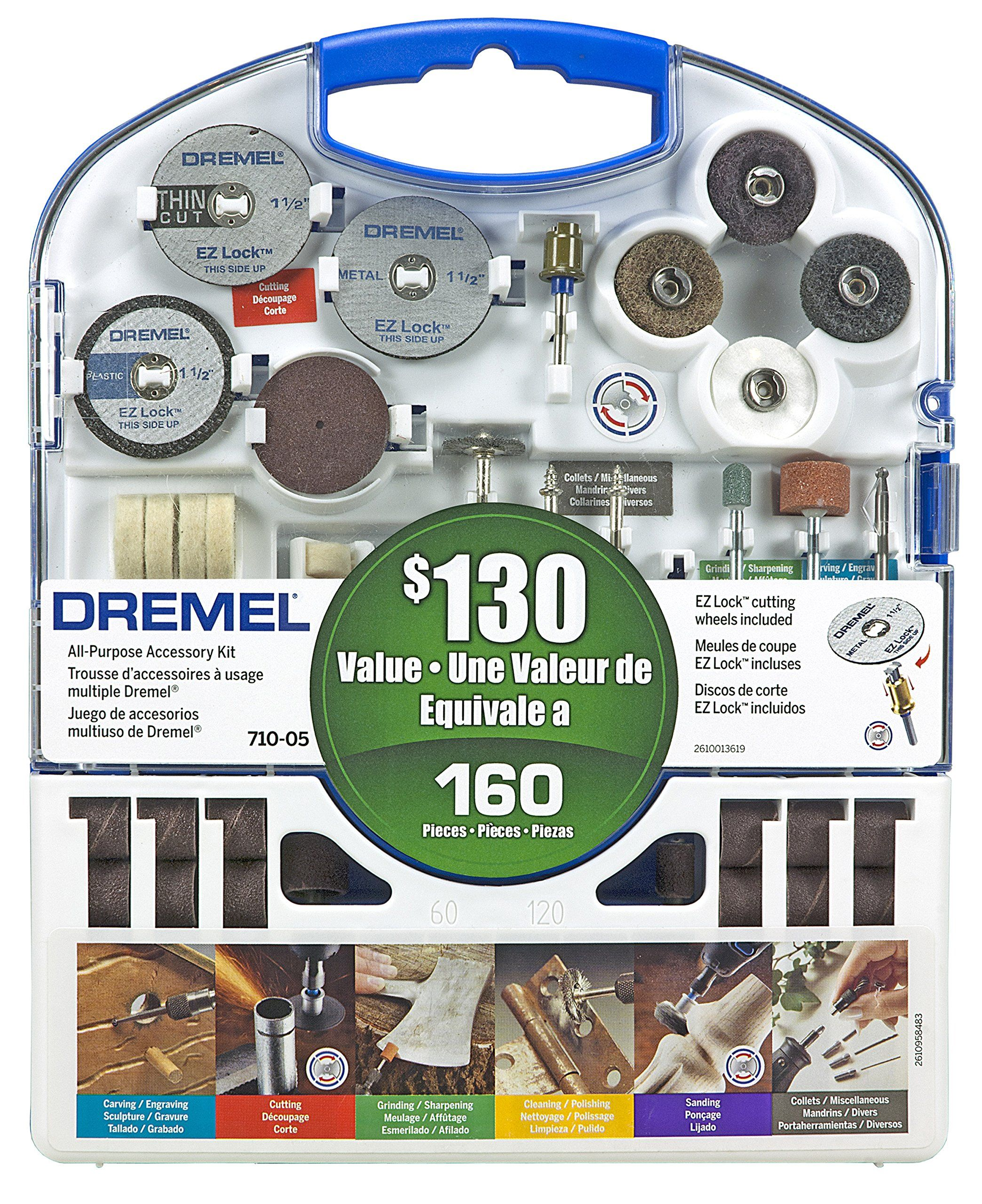 Dremel 710 05 160 Piece Accessory Kit Home Pinterest