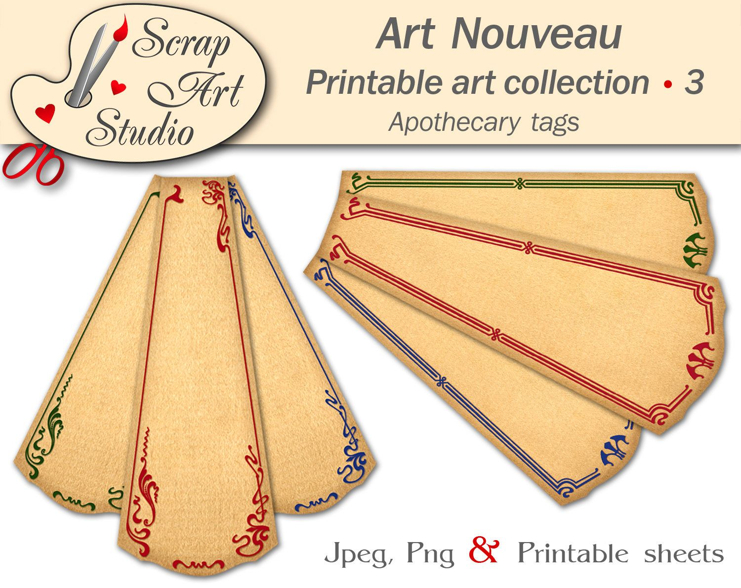 Pin by Geclee Art Studio on Scrapbook clip art collection ...