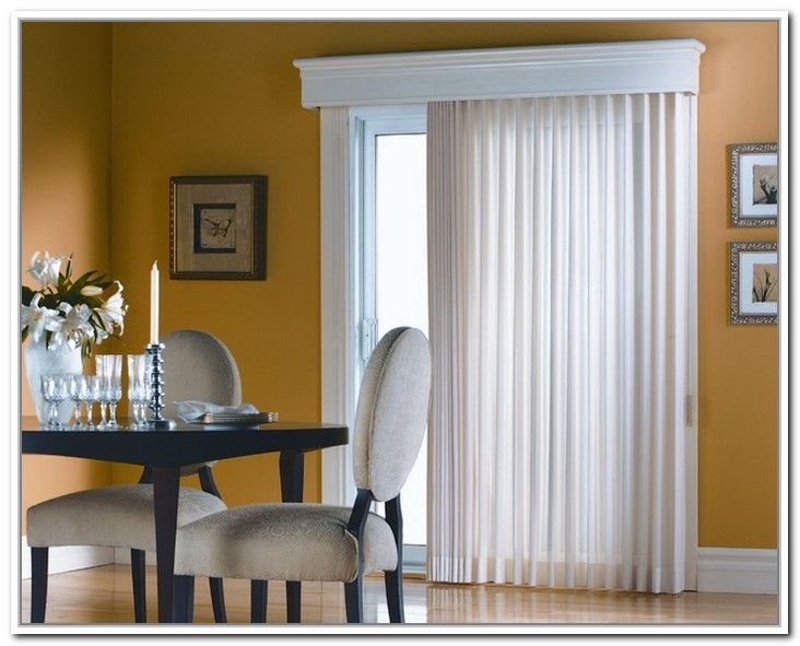 Curtain Rods For Sliding Glass Doors With Vertical Blinds