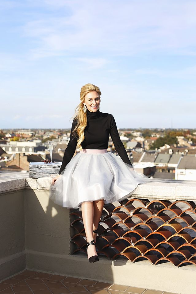 tulle skirt for the holidays