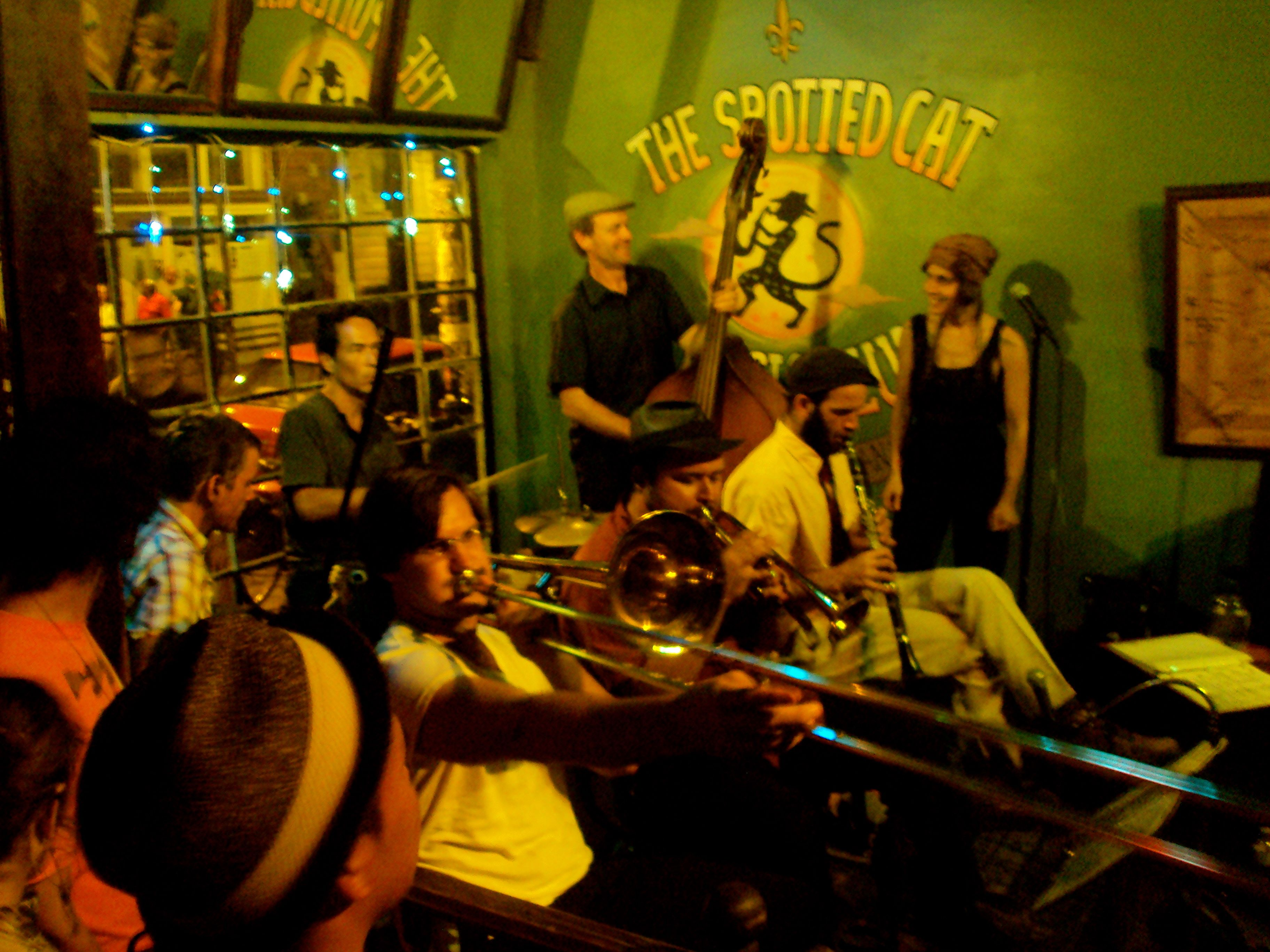 The Spotted Cat Music Club in New Orleans | The Spotted ...