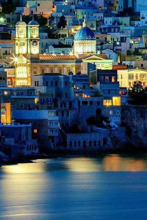 Ermoupolis, Syros island, Greece