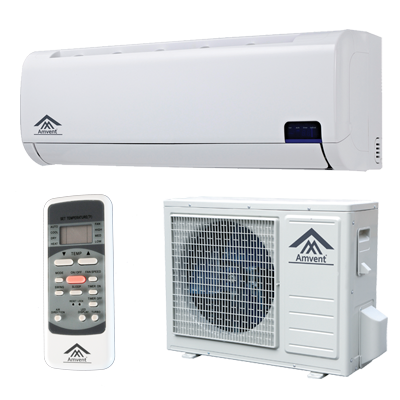 Amvent A37gw2c I2 Inverter Ductless Mini Split Ac Unit Portable Air Conditioning Ductless Air Conditioner Ductless