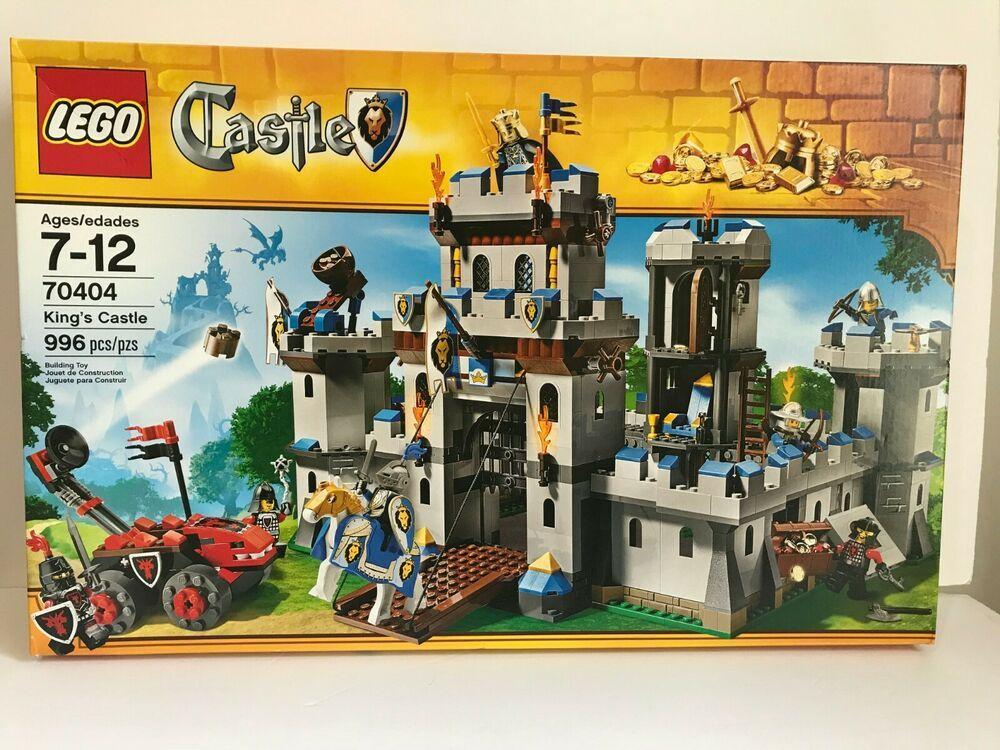 LEGO Castle King's Castle Siege 70404 retired sealed NIB | Geek Gear