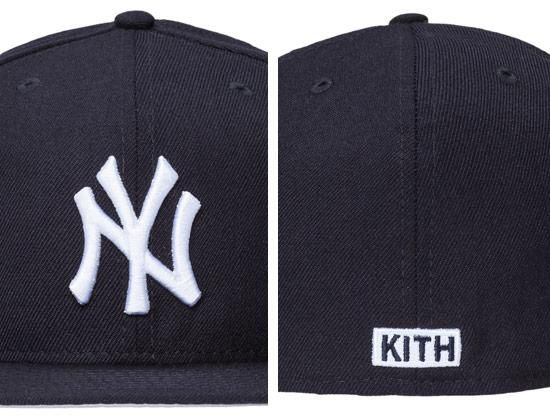 Kith X New York Yankees 59fifty Fitted Caps By New Era