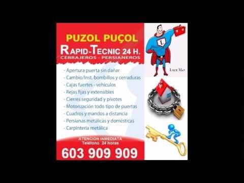 Cerrajeros Puzol 603 909 909 Puçol