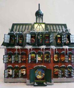 Christmas Vacation Advent House Calendar.Advent Calendar From National Lampoon National Lampoons