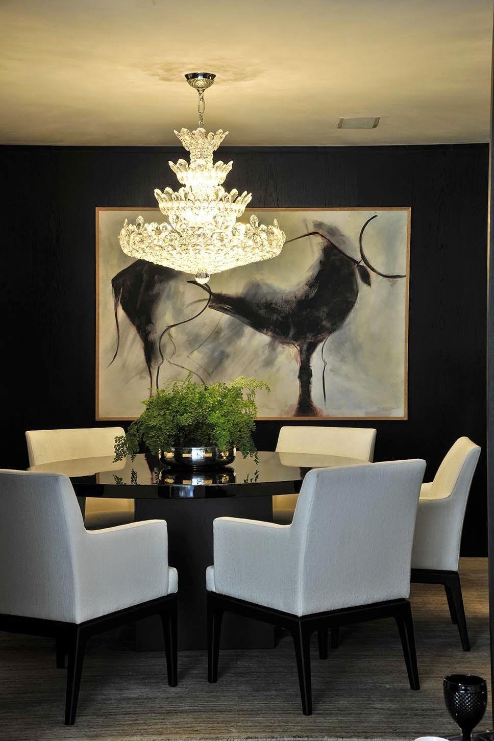 Ambientes sofisticados com estilo contemporneo e clssico