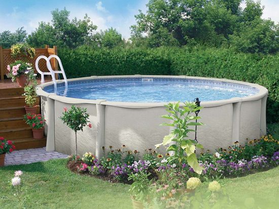 Large above ground pools small above ground pools round - Largest above ground swimming pool ...