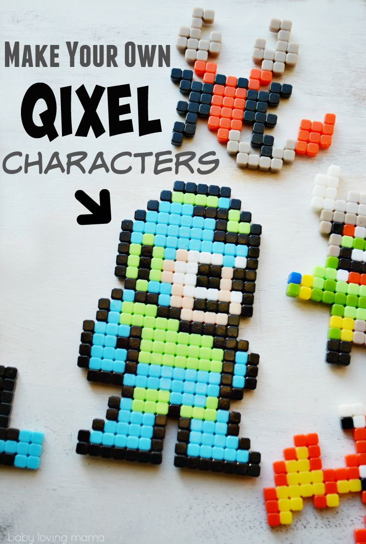 Make Your Own Characters With Qixels A Hot Holiday Toy For Boys