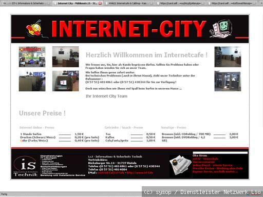 2009 HTML 4 Optimierungen, Technische Unterstützungen - intraNET / Internet STARTSEITE