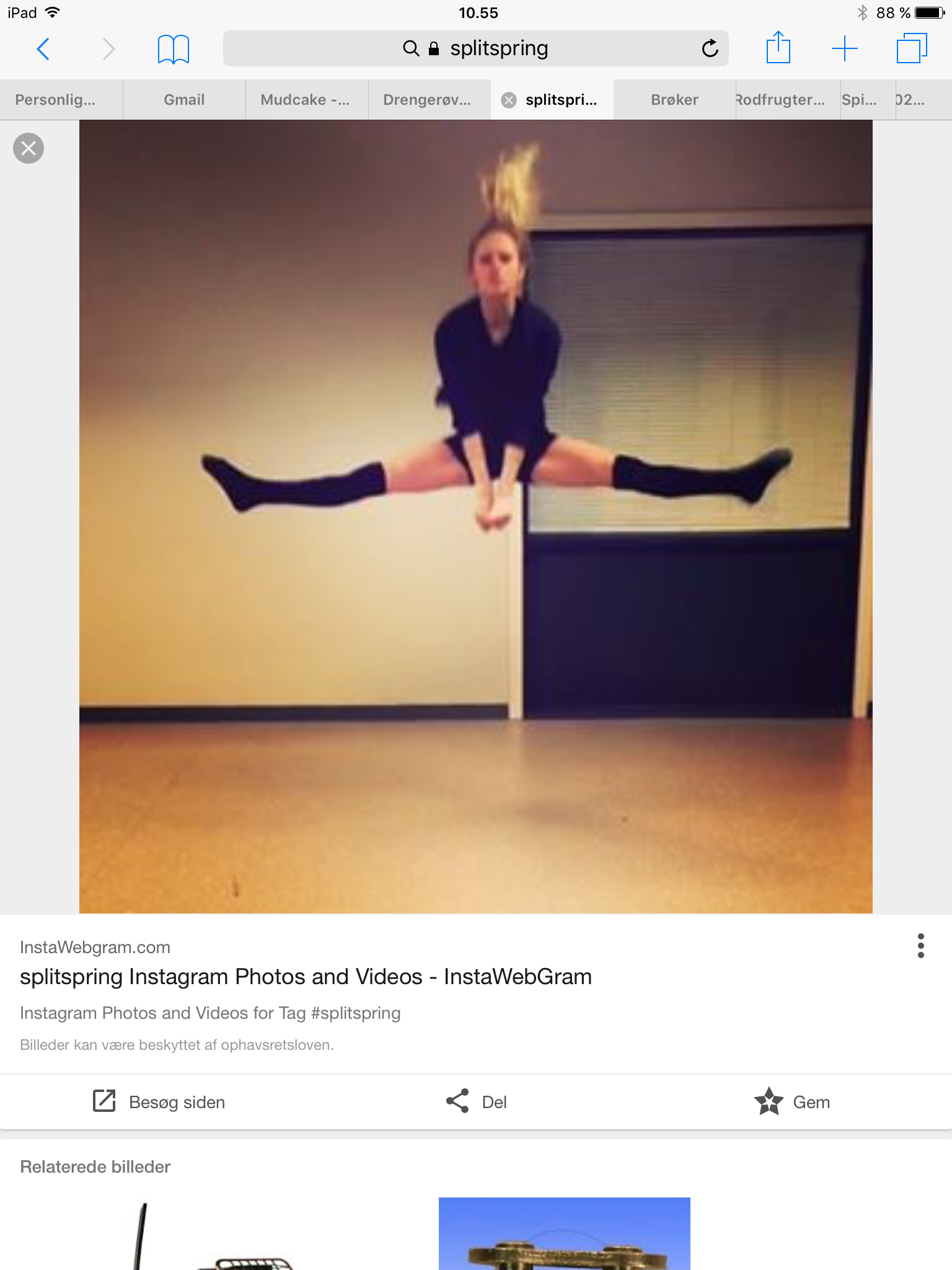 Pin Af Sus Bjerre Pa Gymnastik Tag Billeder Broker