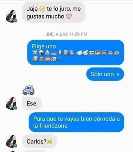 Meme Humor Friendzone Mensajes De Texto Graciosos Memes Espanol Graciosos Textos Graciosos