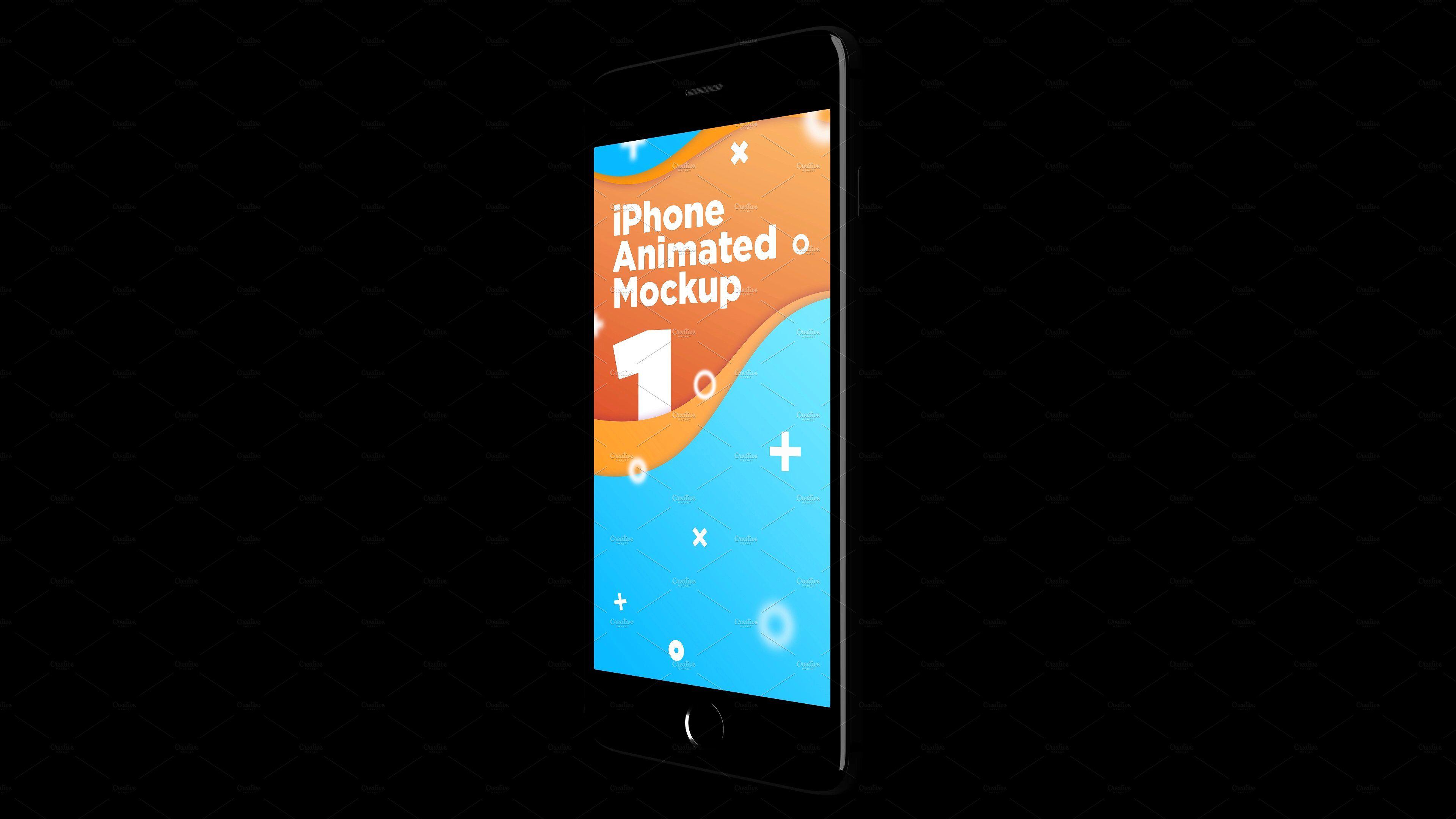 iPhone Animated MockUps Mockup, Animation, Iphone