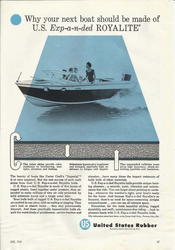 c9774456d2e96d260fa2a158b258bf07 1964 aero craft aluminum boat featured in reynolds aluminum ad  at readyjetset.co