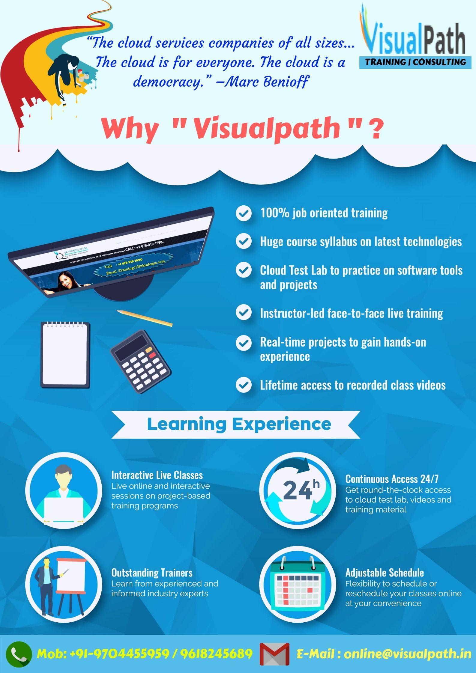 Learn cloud computing services form Visualpath  Visualpath