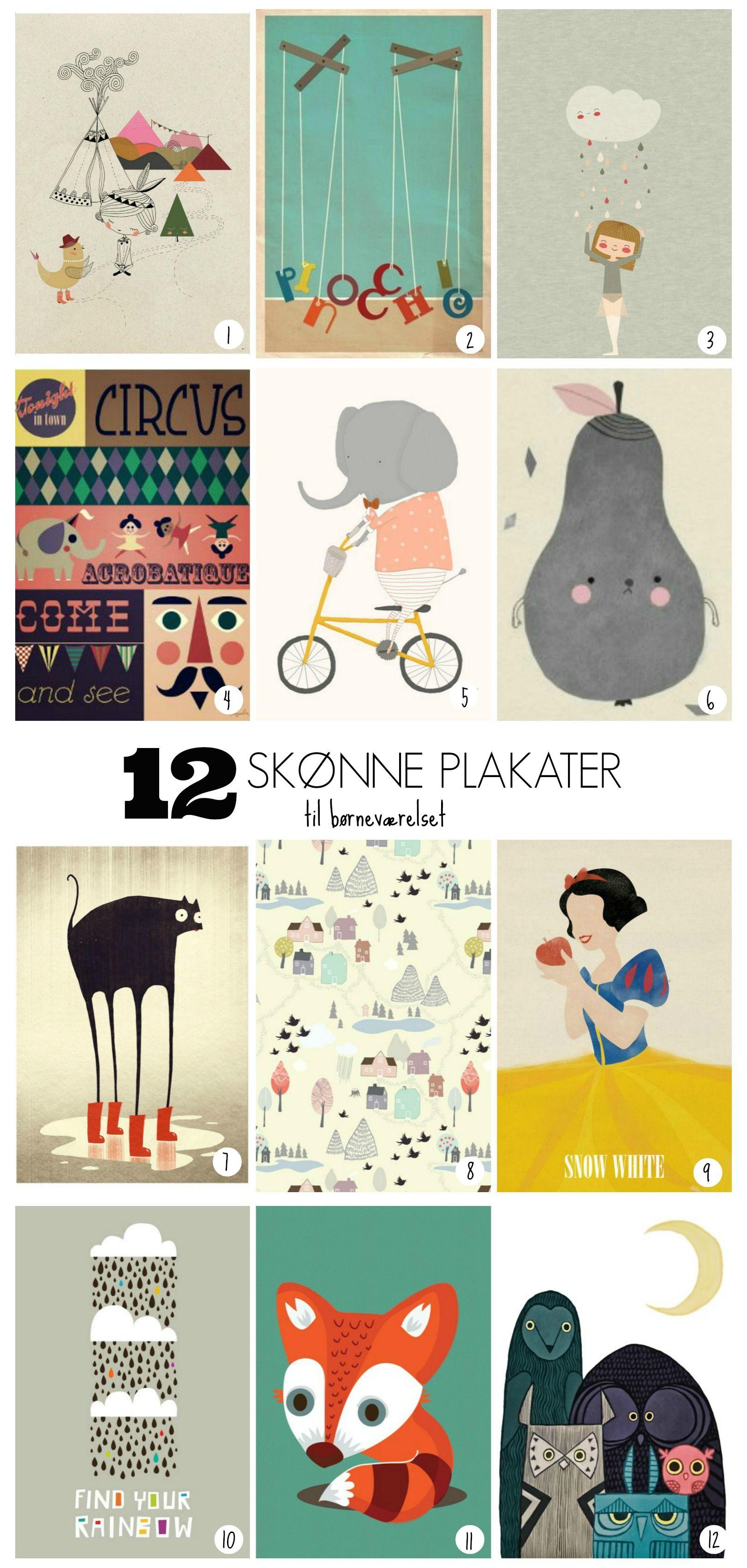 Schöne Poster für Kinderzimmer | Kids: Furniture & Room Deko ...