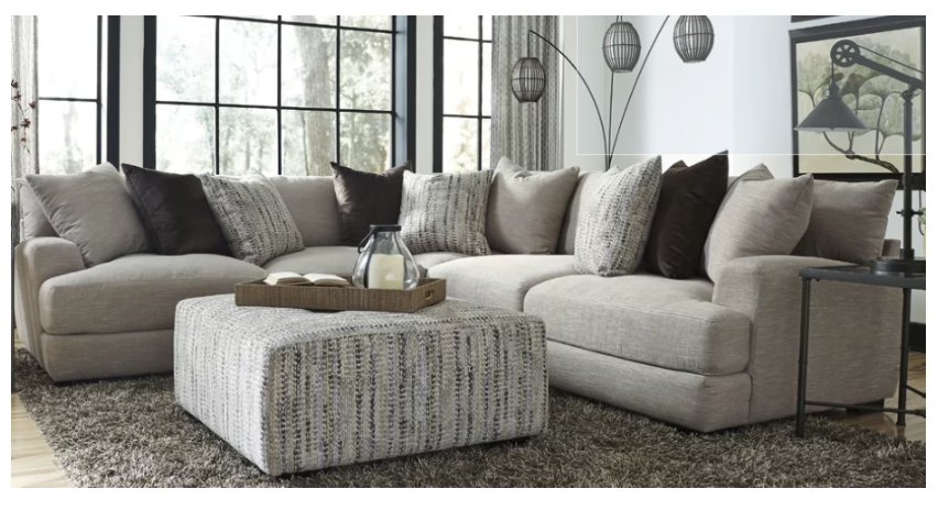 Woodberry Reversible Sectional Price 2 170 Pieces Included 1 Right Arm Facing Loveseat 1 Left Arm Facing Loveseat 1 With Images Sofa Reupholstery Sofa Upholstery Sofa
