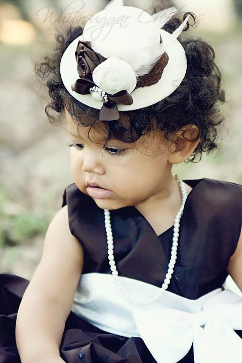 7f4d66858 this little lady, is georgeous! | Children On Board | Church hats ...