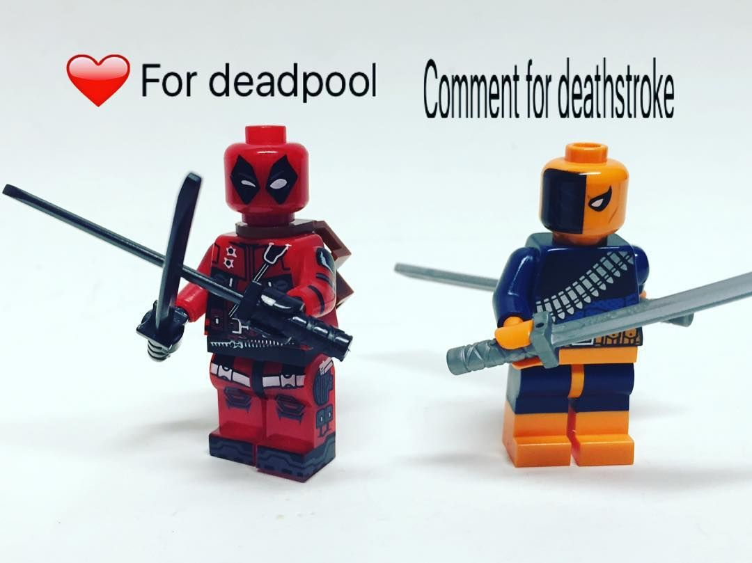 Likedeadpool Commentdeathstroke Marveldcdccomics Dcuniverse