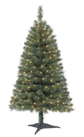 4ft franklin green christmas tree walmartca 39 - Black Christmas Tree Walmart