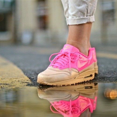 Nike Air Max 1 Vachetta & Pink Flash #airmax1 #airmax