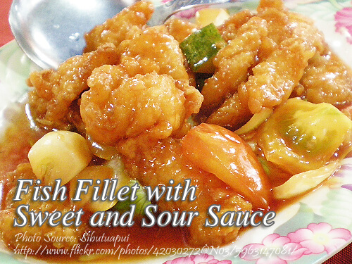 Fish Fillet With Sweet And Sour Sauce Panlasang Pinoy Meaty Recipes Panlasang Pinoy Meaty Recipes In 2020 Sweet And Sour Sauces Fish Fillet Healthy Soup Recipes