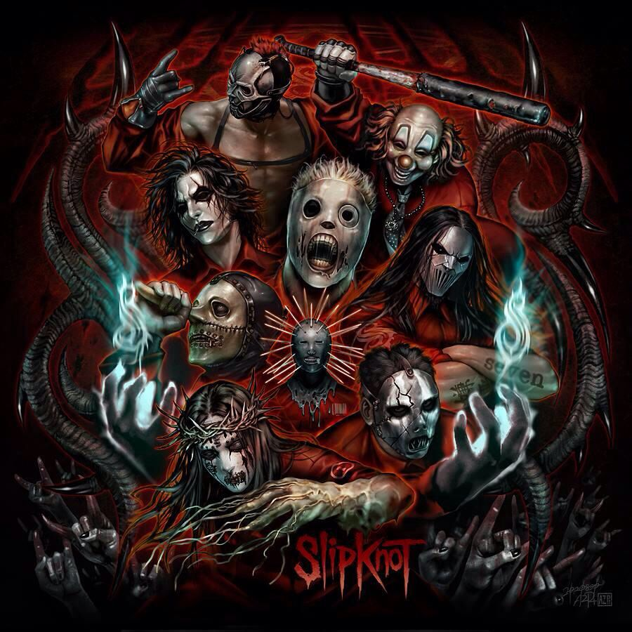 Slipknot Wallpaper Metal musique, Musique, Artiste
