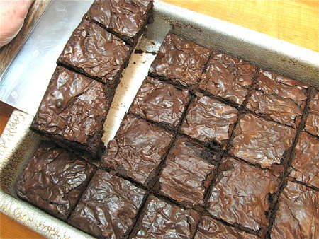 recipe: how to get flaky top on brownies [12]