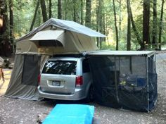 CVT Cascadia Vehicle Roof Top Tents