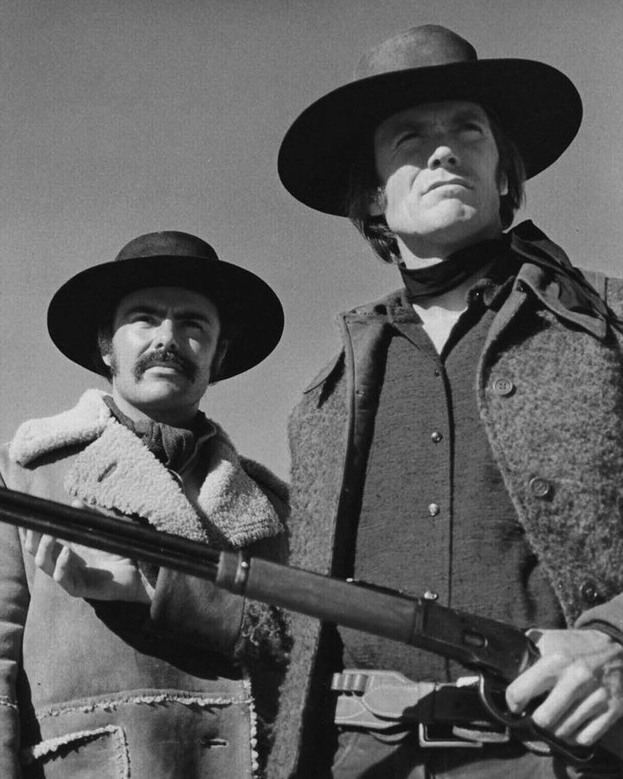 "Clint Eastwood on Instagram: ""Clint Eastwood and John Saxon are ..."