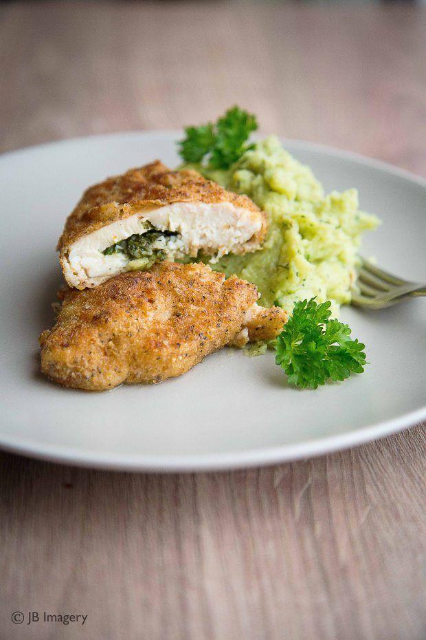 Chicken Kiev Food Photography Mash Potato Broccol Absolutely