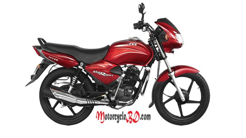 Tvs Star Sport 125 Price In Bangladesh Specs Review Mileage