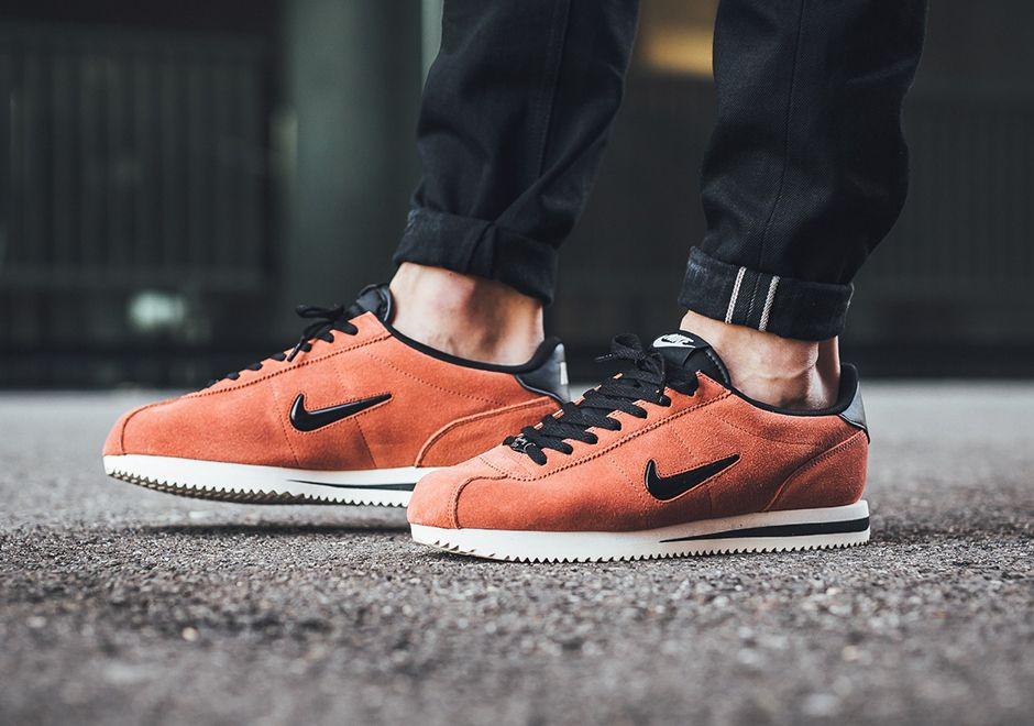 watch 7395f 27f6b The Nike Cortez Jewel changes from the leather colorways we ve seen so far  since it returned this summer into a suede outfit for fall, ...