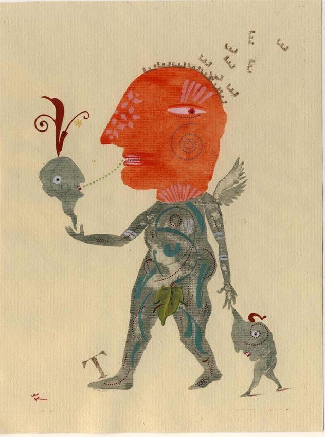 Folio illustration agency, London, UK | Jean-Christian Knaff - Surreal - Illustrator