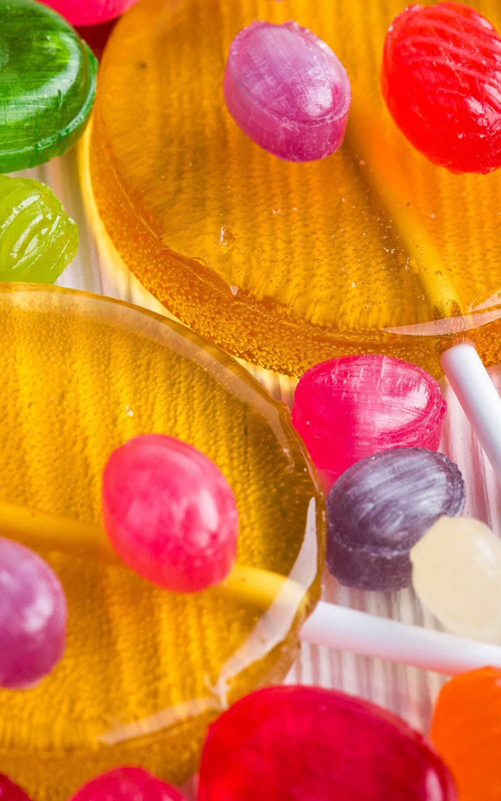 Colorful Lollipops And Candies 4k Ultra Hd Mobile Wallpaper Lollipop Mobile Wallpaper Wallpaper