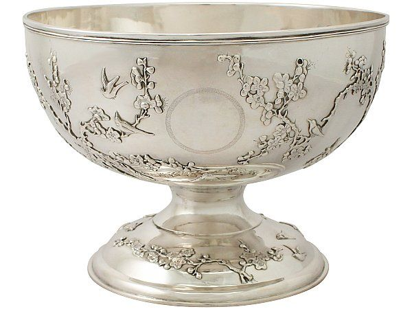 Chinese Export Silver Bowl - Antique Circa 1890  SKU: A4649 Price: GBP £3,450.00  http://www.acsilver.co.uk/shop/pc/Chinese-Export-Silver-Bowl-Antique-Circa-1890-41p8416.htm