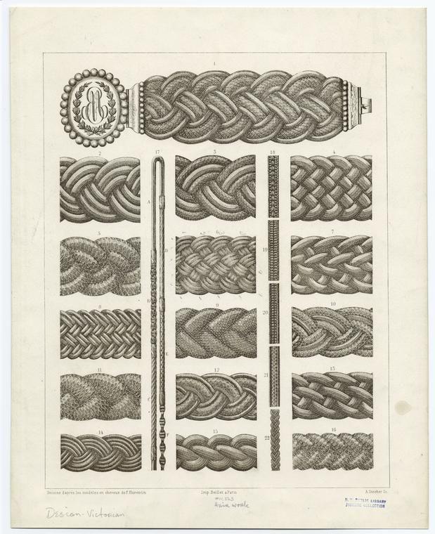 hair jewelry braid patterns