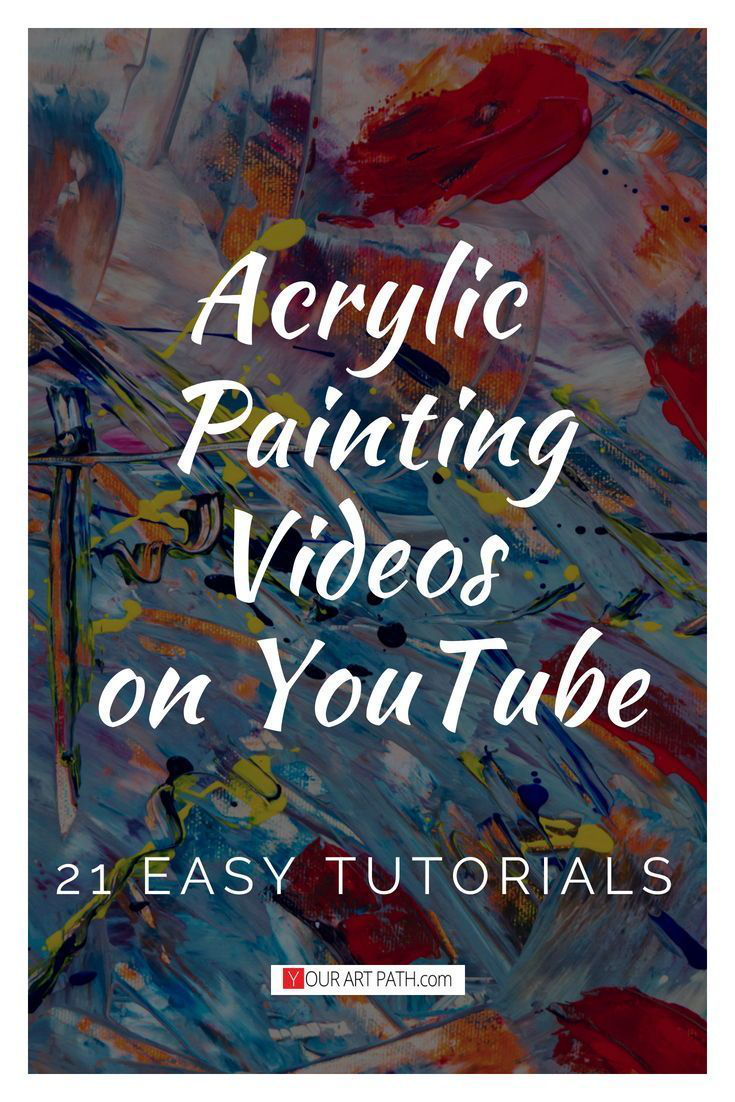 21 Best Free Acrylic Painting Lessons On Youtube , # ...