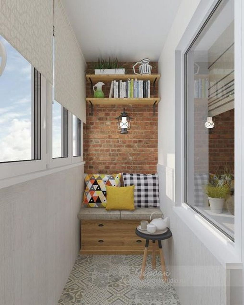 40 Chic Apartment Small Balcony Design Ideas For You Balcony Furniture Apartment Balcony Decorating Small Balcony Design