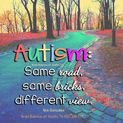 My child has Autism and she is my teacher.