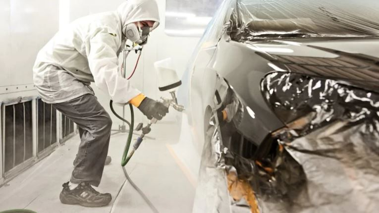 How much does it cost to paint a car car painting car