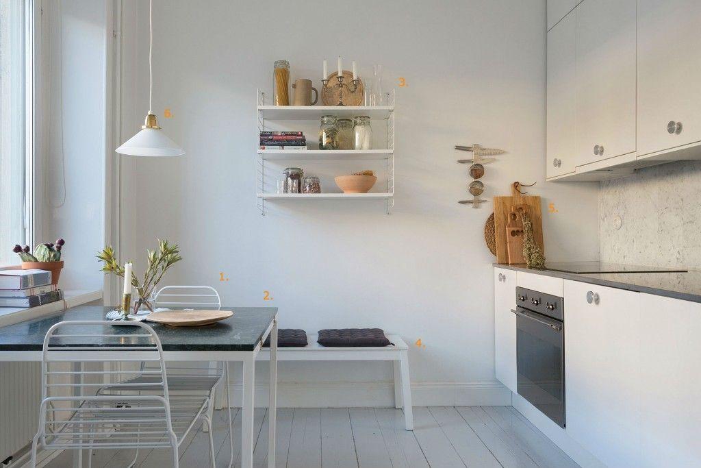 Design Kleine Keuken : Shop the look: kleine keuken met eethoek pinterest room