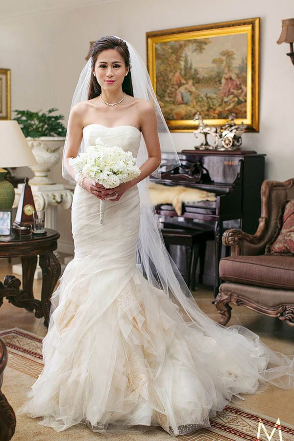 Celebrity Wedding Toni Gonzaga And Paul Soriano Wedding Preparation Photos Wedding Preparation Photos Find Wedding Dress Toni Gonzaga Wedding