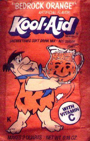 Bedrock Orange Kool Aid Flavors Kool Aid Vintage Ads