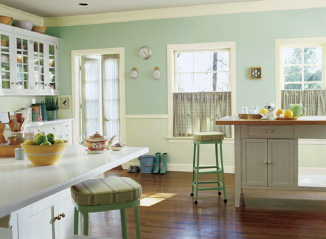 Add a hint of green to your kitchen. NPW2012   Paint ...
